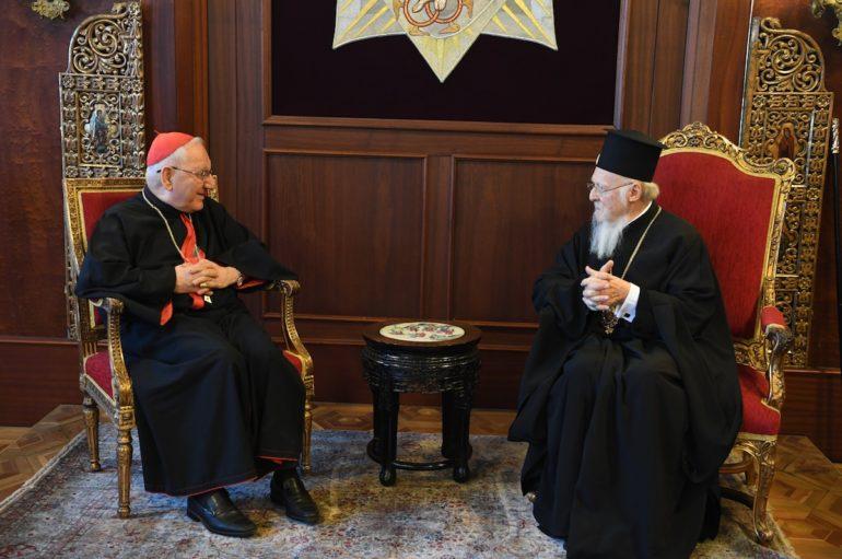 Ο ΡΚαθολικός Πατριάρχης των Συροχαλδαίων στο Οικ. Πατριαρχείο
