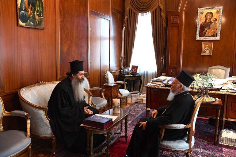 Ο Αρχιεπίσκοπος Ιερώνυμος προσκαλεί τον Οικ. Πατριάρχη στην Αθήνα