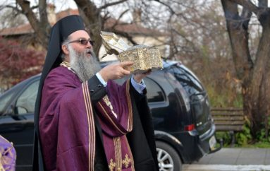 Η Κάρα του Αγίου Ελευθερίου ευλόγησε τη Σκοτίνα Πιερίας
