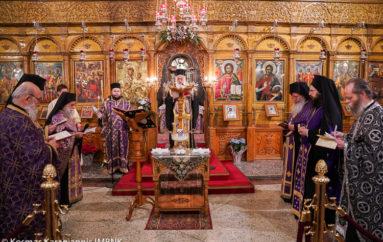Ευχέλαιο ενώπιον του Λειψάνου της Αγ. Μαρίας Μαγδαληνής στη Νάουσα