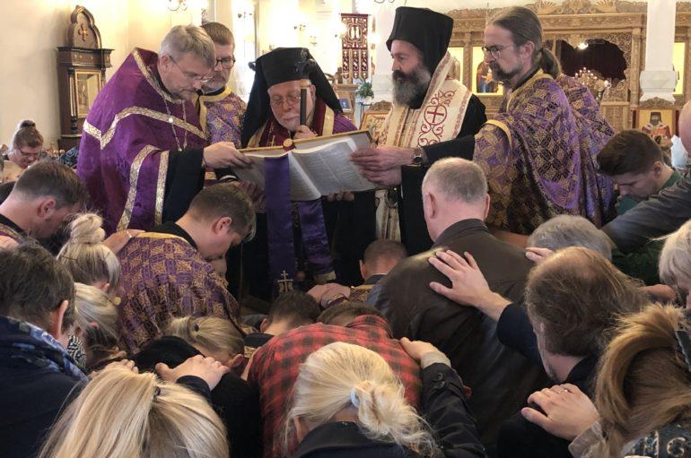 Η Ακολουθία του Ιερού Ευχελαίου στην Ταλλίνη της Εσθονίας