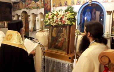 """Τα Δίρφυα Ευβοίας υποδέχθηκαν την Παναγία """"Ντινιούς"""""""
