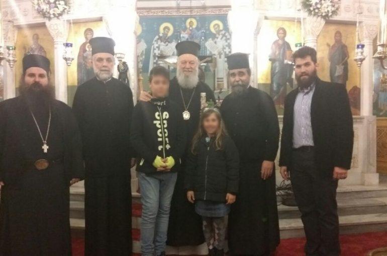 Ποιμαντική επίσκεψη του Μητροπολίτη Χαλκίδος στη Σκόπελο