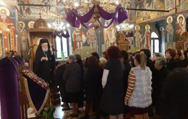 Ο Μητροπολίτης Χαλκίδος στον Άγιο Νικόλαο Ψαχνών Ευβοίας