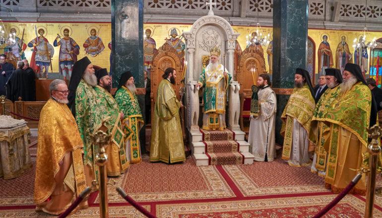 Ε΄ Κυριακή των νηστειών στον Ι. Ναό Αγίου Αντωνίου Βεροίας