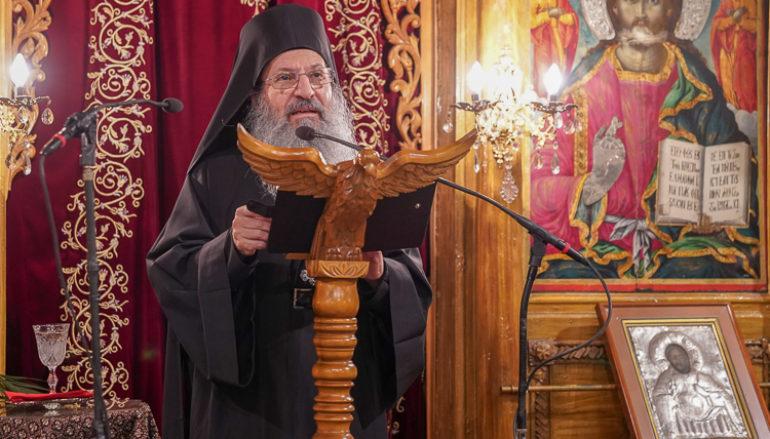 Ομιλία του Καθηγουμένου της Ι. Μονής Σιμωνόπετρας στη Νάουσα