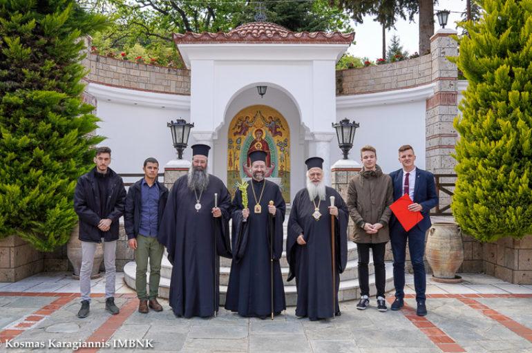 Επίσκεψη του Αρχιεπισκόπου Τελμησσού στην Ι. Μ. Παναγίας Δοβρά