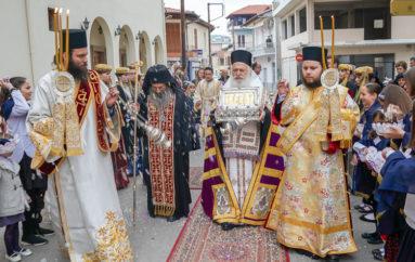 Η Νάουσα υποδέχτηκε Λείψανο της Αγίας Μαρίας της Μαγδαληνής