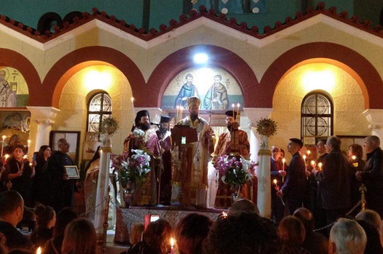 Η Ανάσταση του Κυρίου στην Ι. Μ. Νέας Ιωνίας