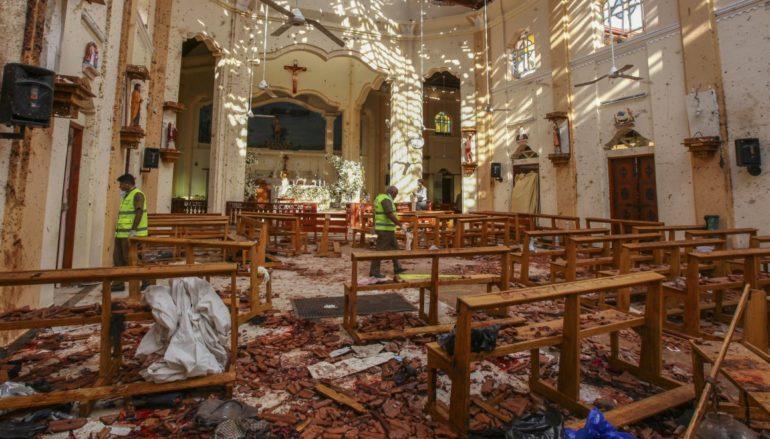 Ανακοίνωση Ι.Μ. Εσφιγμένου για τις επιθέσεις στη Σρι Λάνκα