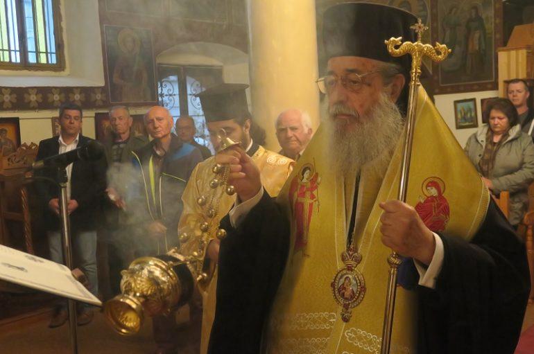 Η Δ' Στάση των Χαιρετισμών στην Ιερά Μητρόπολη Φθιώτιδος