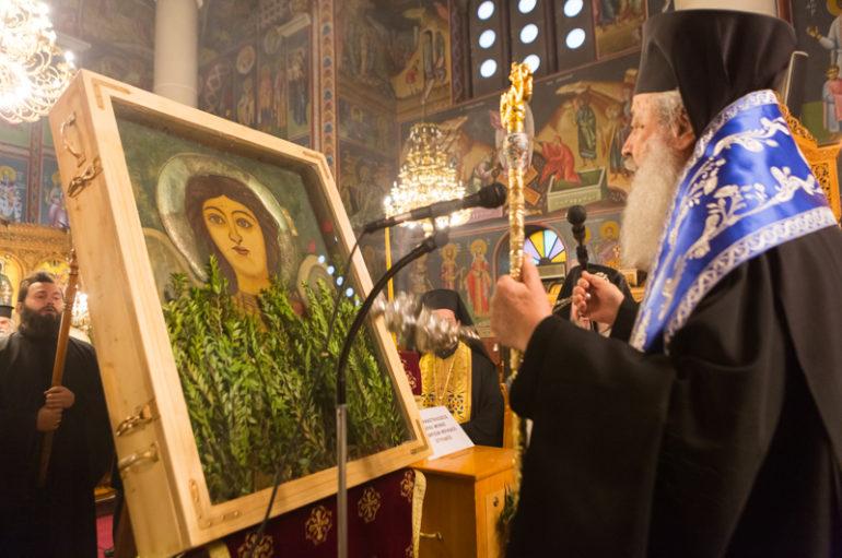 Η Λαμία υποδέχθηκε την Ιστορική  Εικόνα του Αρχιστρατήγου Μιχαήλ