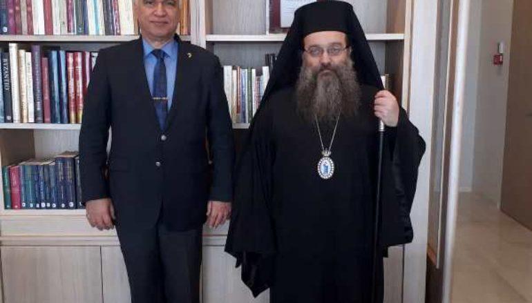Στον Μητροπολίτη Χίου ο Στρατηγός ε.α Μιχαήλ Κωσταράκος