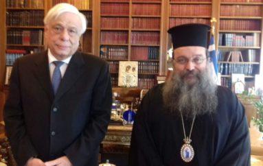 Ο Μητροπολίτης Χίου στον Πρόεδρο της Δημοκρατίας