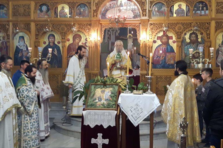 Κυριακή της Βαϊφόρου στην Ιερά Μητρόπολη Καρυστίας