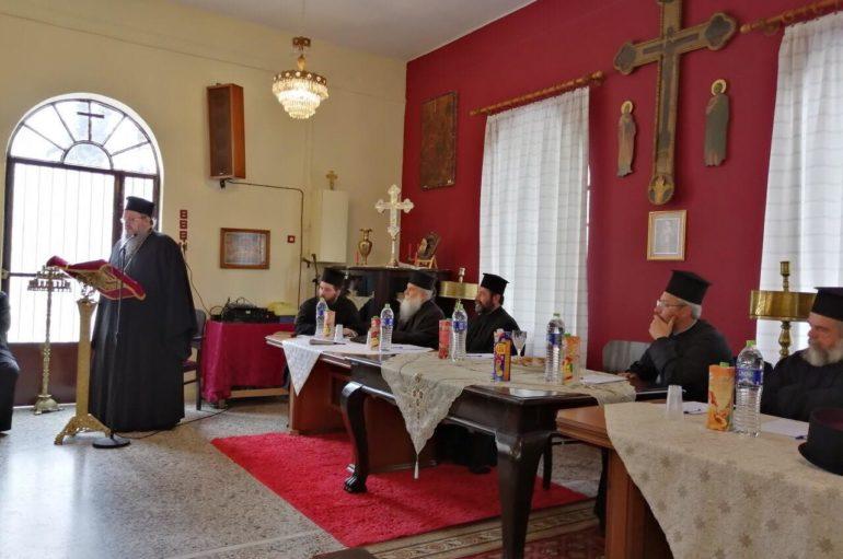 Ιερατική Σύναξη στην Ιερά Μητρόπολη Λαρίσης