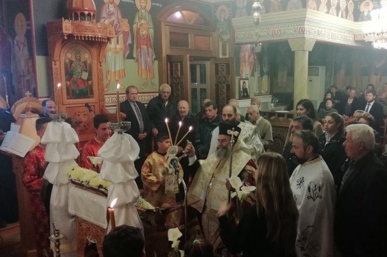 Η Ακολουθία του Ακαθίστου Ύμνου στην Ιερά Μητρόπολη Μάνης