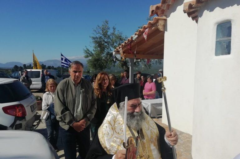 Η εορτή του Αγίου Ραφαήλ στην εξοχή του Γυθείου