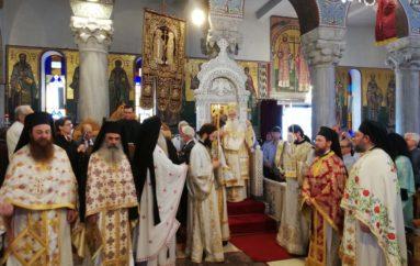 Λαμπρός ο εορτασμός των Αγίων Κωνσταντίνου και Ελένης στο Βόλο