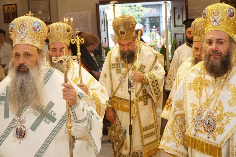 Πολυαρχιερατικό Συλλείτουργο για τον Πολιούχο Τρικάλων Άγιο Βησσαρίωνα