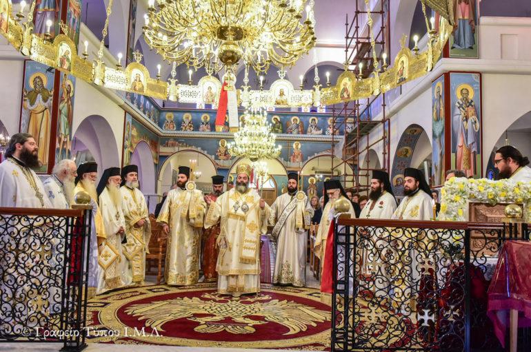Η εορτή των Ισαποστόλων Κωνσταντίνου και Ελένης στην Ι. Μ. Λαγκαδά