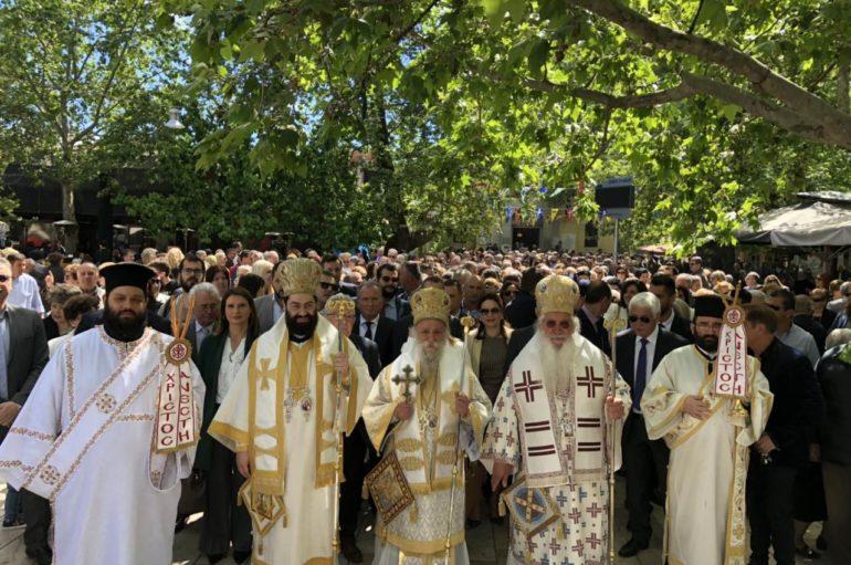 Εορτασμός του Αγίου Ιωάννη Καλοκτένη του Νέου Ελεήμονος Πολιούχου Θήβας