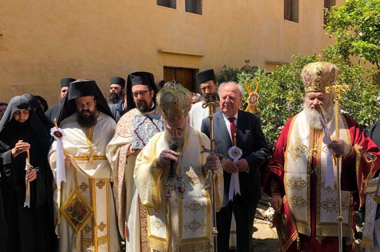 Παλαϊκό προσκύνημα στην Ιερά Μονή Χρυσοπηγής Χανίων