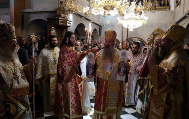 Πανηγύρισε η Ι. Μονή Οσίου Εφραίμ στη Νέα Μάκρη