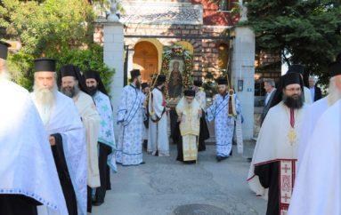 Λιτανεία της Παναγίας Ελεούσης στην Ι. Μ. Εδέσσης