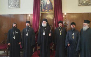 Στο Πατριαρχείο Αλεξανδρείας αντιπροσωπεία της Ρωσικής Εκκλησίας