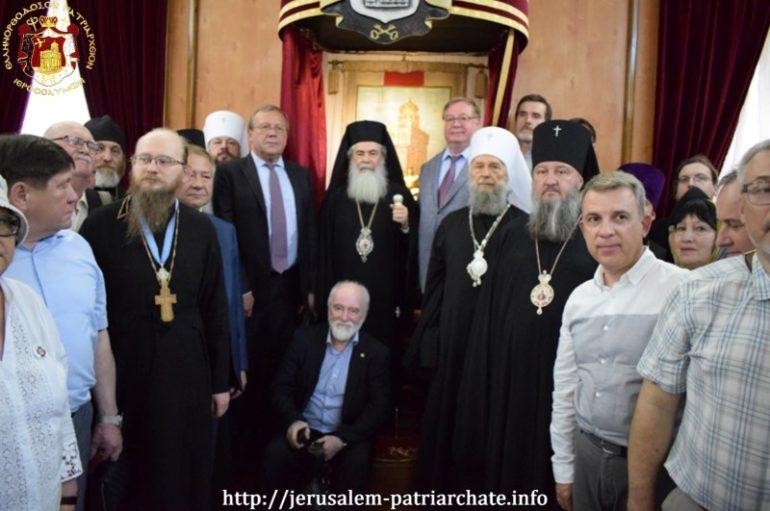 Πρόεδροι της Αυτοκρατορικής Παλαιστινιακής εταιρίας στο Πατριαρχείο