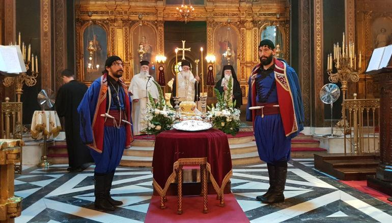 Οι Ρεθεμνιώτες Αττικής προσευχήθηκαν για τον μακαριστό Αυστραλίας Στυλιανό
