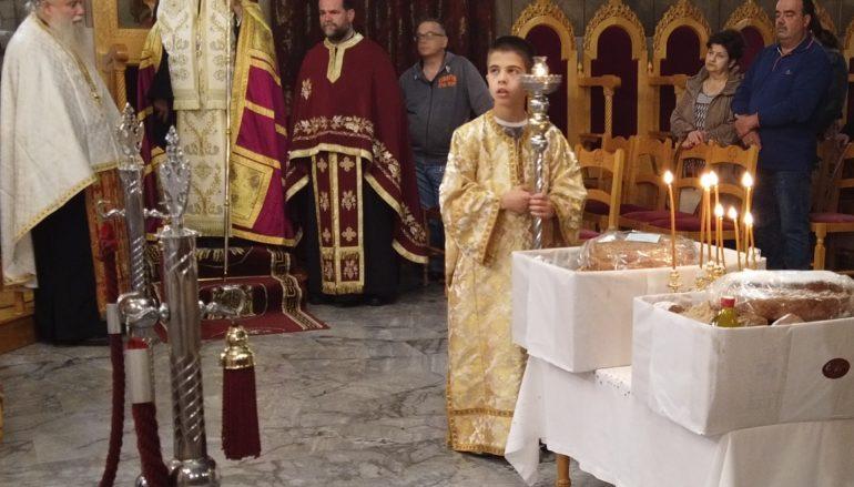Αγρυπνία για την Αυτοκράτειρα του Βυζαντίου Οσία Υπομονή στον Πύργο