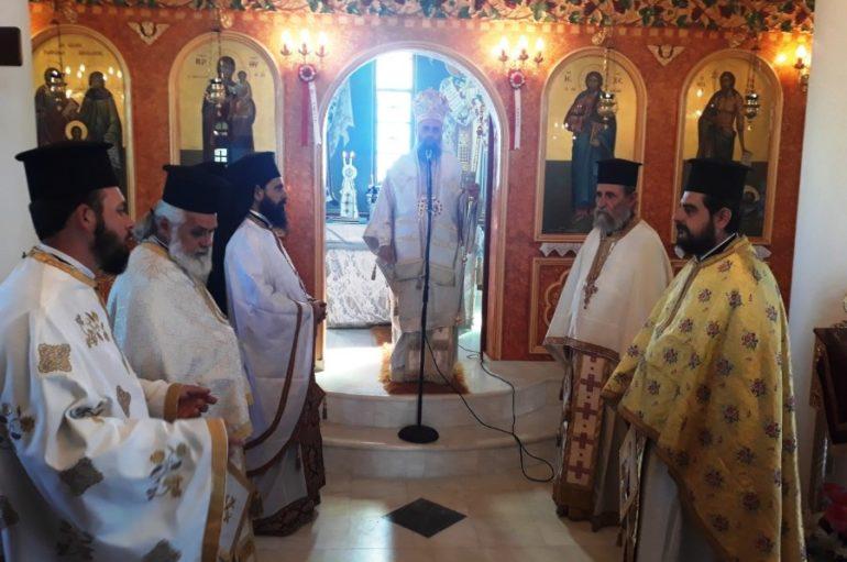 Εορτή των Αγ. Ραφαήλ, Νικολάου και Ειρήνης στην Ι. Μ. Θεσσαλιώτιδος
