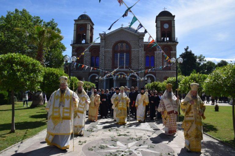 Η Καρδίτσα εόρτασε τον Πολιούχο της Άγιο Σεραφείμ Αρχιεπίσκοπο Φαναρίου