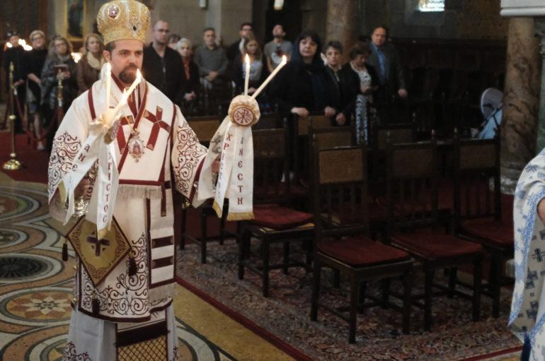 Ο Επίσκοπος Μελιτηνής στον Άγιο Στέφανο Παρισίων