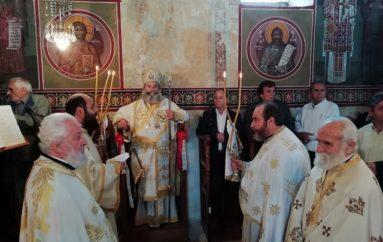 Αρχιερατική Θ. Λειτουργία στο Ρωμήρι Μεσσηνίας