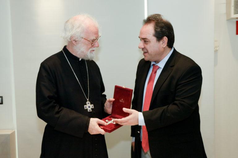 Επίσκεψη του Προέδρου της ChristianAid στην «Αποστολή»