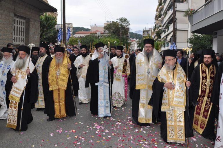 Η Λιτανεία του Αγίου Χριστοφόρου στο Αγρίνιο