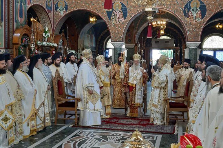 Η Λάρισα εόρτασε τον Πολιούχο της Άγιο Αχίλλιο