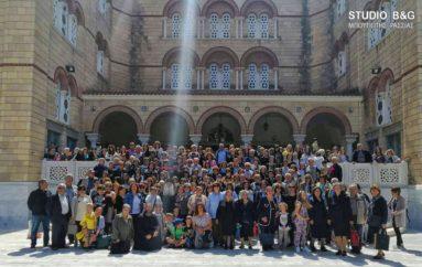 Με 600 προσκυνητές ο Μητροπολίτης Αργολίδος στην Αίγινα