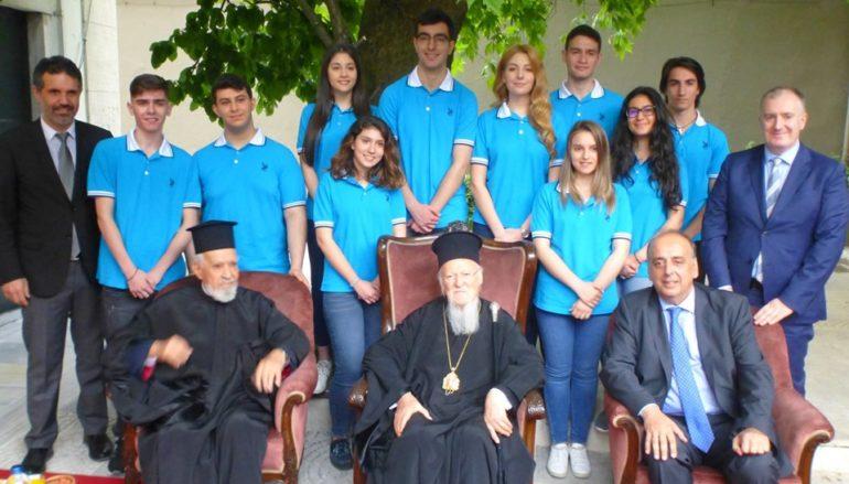 Ο Οικ. Πατριάρχης στον Άγιο Κωνσταντίνο Σταυροδρομίου
