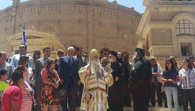 Λαμπρά η Πανήγυρις του Αγίου Γεωργίου στο Κάιρο