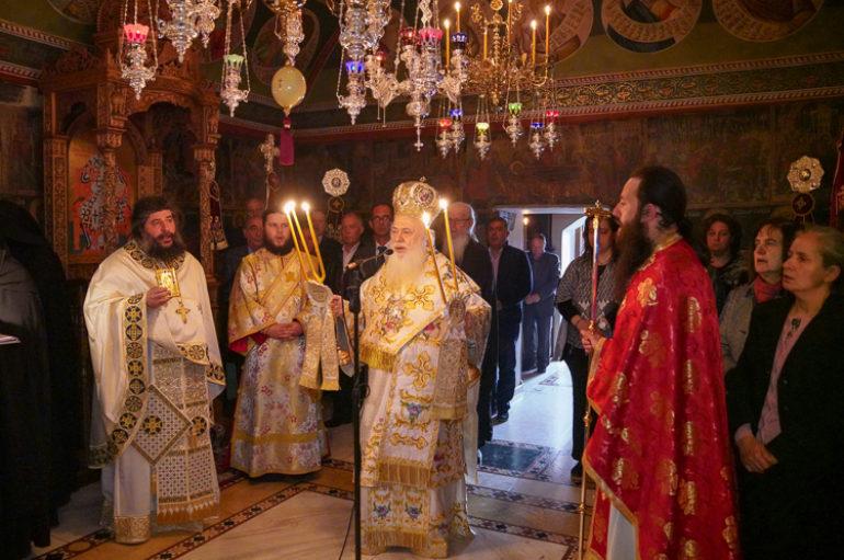 Εορτή της Οσίας Ματρώνας εκ Ρωσίας στην Ι. Μονή Αγ. Πάντων Βεργίνας