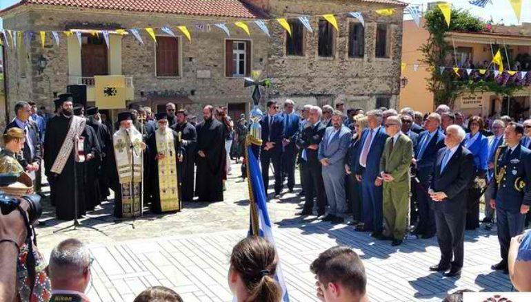 Ο ΠτΔ στις εκδηλώσεις τιμής και μνήμης Αλώσεως της Πόλης στο Μυστρά