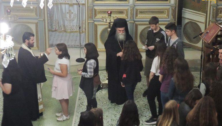 Ιερά Παράκληση για τους εξεταζομένους μαθητές στην Άρτα