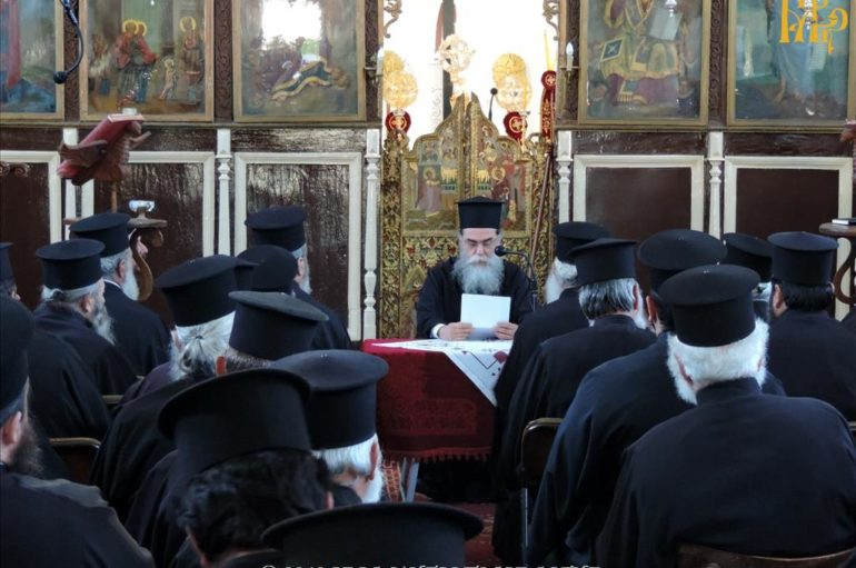Ιερατική Σύναξη μηνός Μαΐου της Ι. Μητροπόλεως Άρτης
