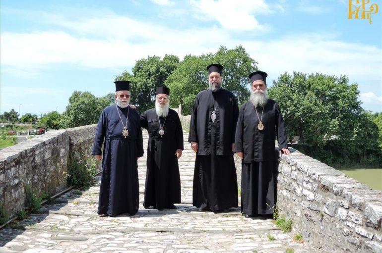 Επισκέψεις Αρχιερέων στην Ιερά Μητρόπολη Άρτης