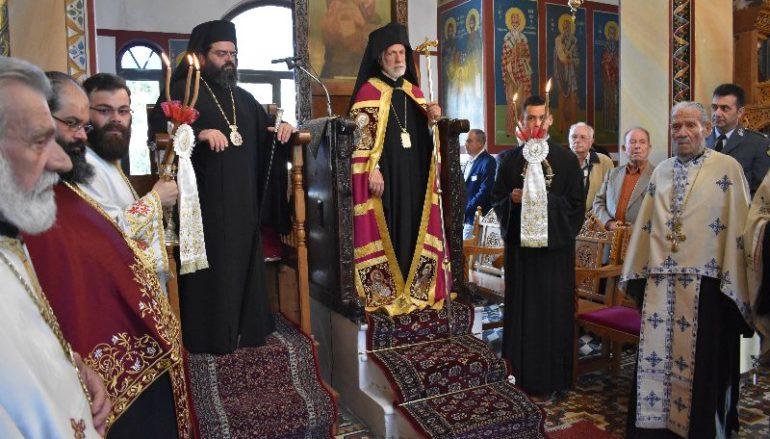 Η μνήμη των Αγίων Κωνσταντίνου και Ελένης στην Ι. Μ. Μαρωνείας