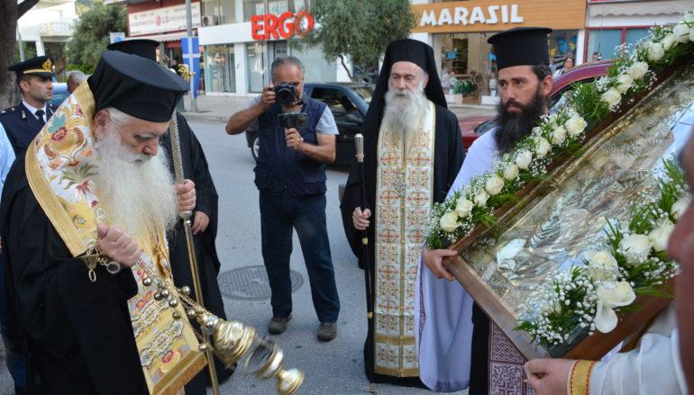 Την Παναγία Σηλυβριανή υποδέχθηκε το Ναύπλιο